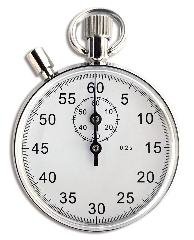 866 stopwatch white bg